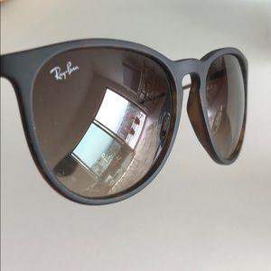 Ray Ban Erika Brown Sunglasses